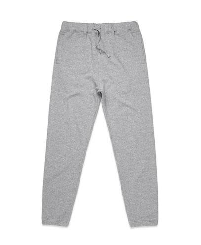 5917 Mens Surplus Track Pants - Grey Marle