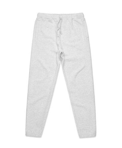 5917 Mens Surplus Track Pants - White Marle