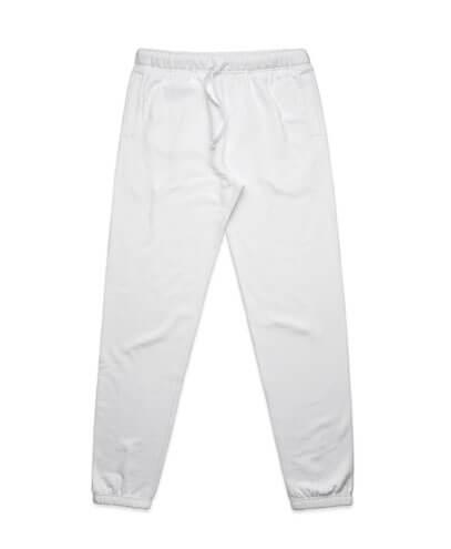 5917 Mens Surplus Track Pants - White