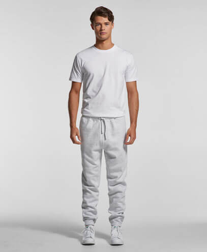 5917 Mens Surplus Track Pants - Worn by Male Model