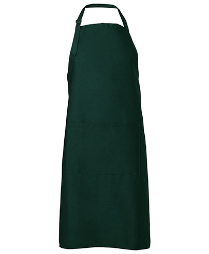 JB5A Apron with Pocket - Bottle Green