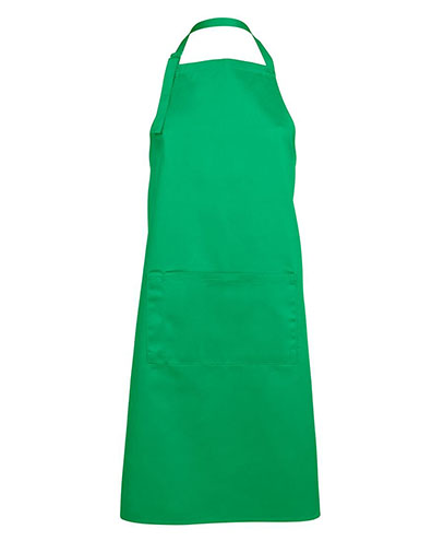 JB5A Apron with Pocket - Pea Green