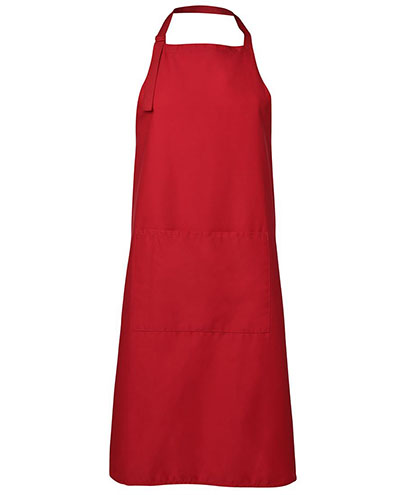 JB5A Apron with Pocket - Red