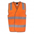 6DNSV Adults Hi Vis D+N Safety Vest - Front