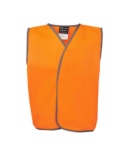 6HVSV Kids Hi Vis Safety Vest - Front