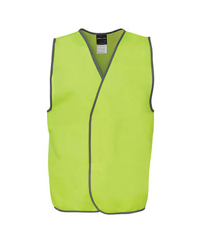 6HVSV Adults Hi Vis Safety Vest - Front