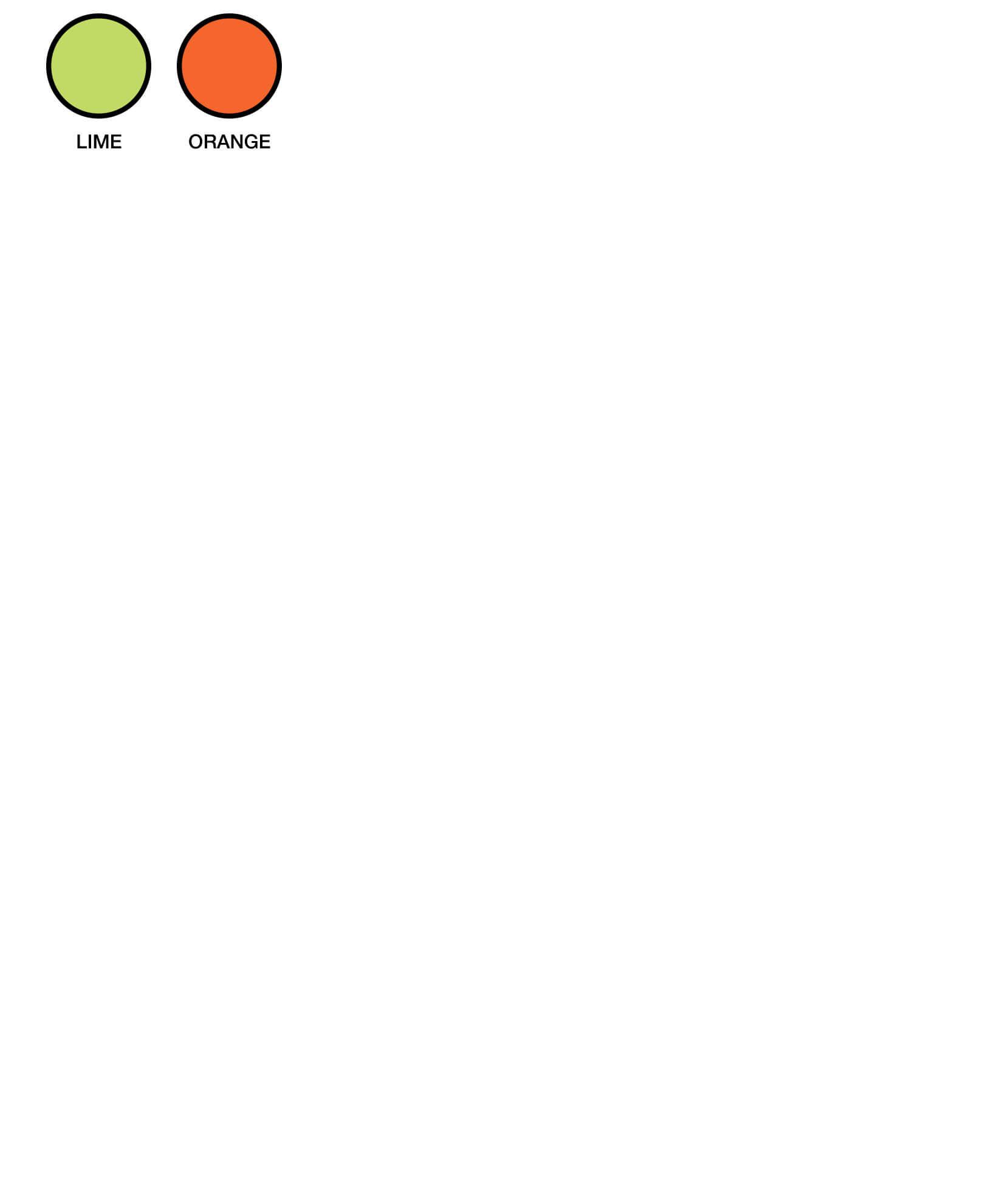 6HVSV Colour Chart