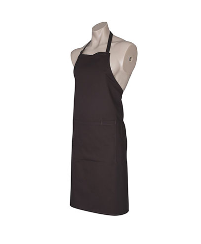 BA95 Bib Apron - Chocolate