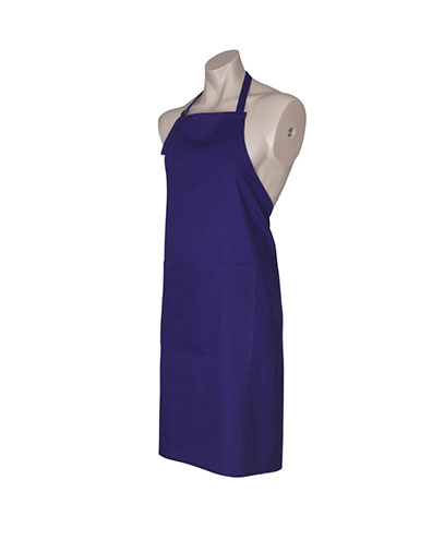 BA95 Bib Apron - Purple