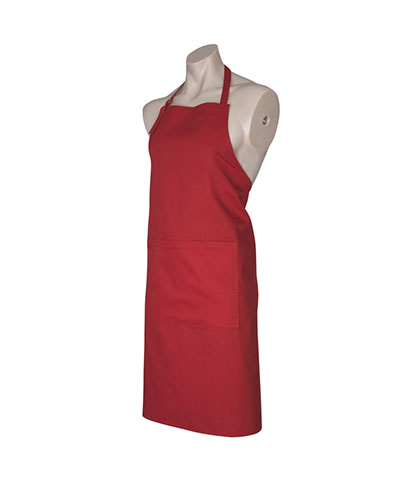 BA95 Bib Apron - Red