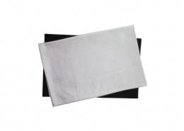 Custom Cotton Tea Towels - White and Black