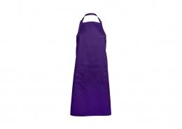 Custom Apron - JB5A Apron with Pocket in Purple