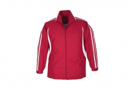 Custom Tracktop - J3150 Adults Flash Team Jacket in Red / White