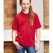 P300KS Kids Sprint Quick Dry Polo - Front