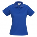 P300LS Womens Sprint Quick Dry Polo - Royal