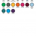 P400MS Colour Chart