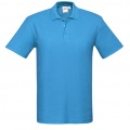 P400MS Mens Crew Polo - Black