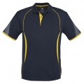 P405MS Mens Razor Quick Dry Polo - Navy / Gold