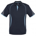 P405MS Mens Razor Quick Dry Polo - Navy / Sky