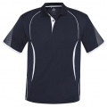 P405MS Mens Razor Quick Dry Polo - Navy / White
