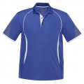 P405MS Mens Razor Quick Dry Polo - Royal / White