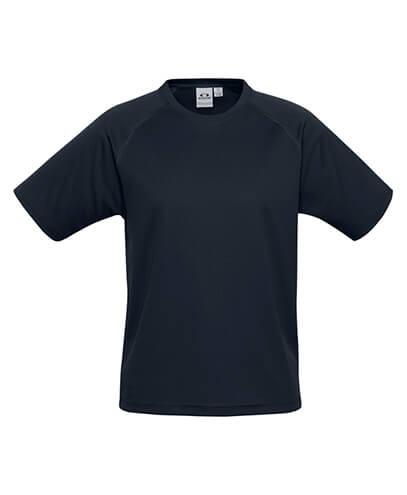 T301KS Kids Sprint Quick Dry T-shirt - Navy