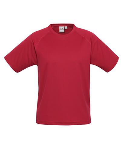 T301KS Kids Sprint Quick Dry T-shirt - Red