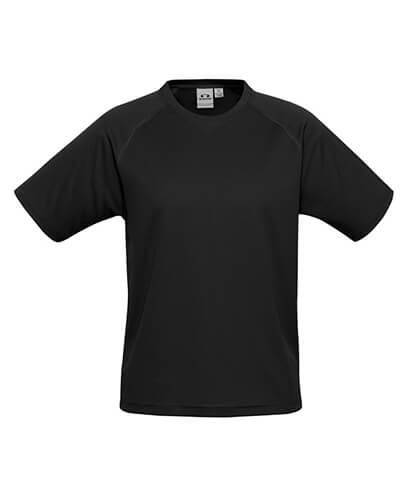 T301KS Kids Sprint Quick Dry T-shirt - Black