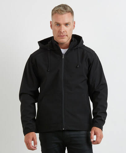 AHS Adults 3K Softshell Hoodie - Front