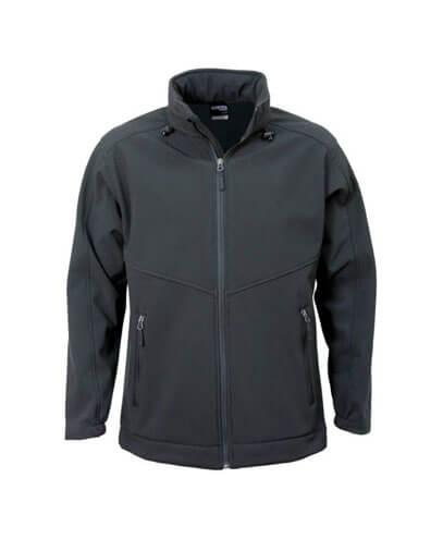 AJM Adults Aspiring Softshell Jacket - Black