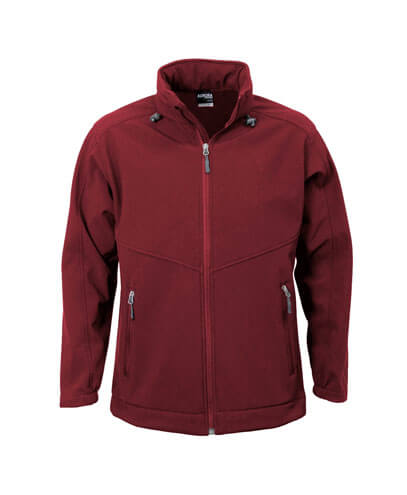 AJM Adults Aspiring Softshell Jacket - Maroon