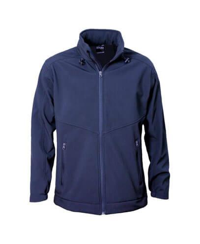 AJM Adults Aspiring Softshell Jacket - Navy