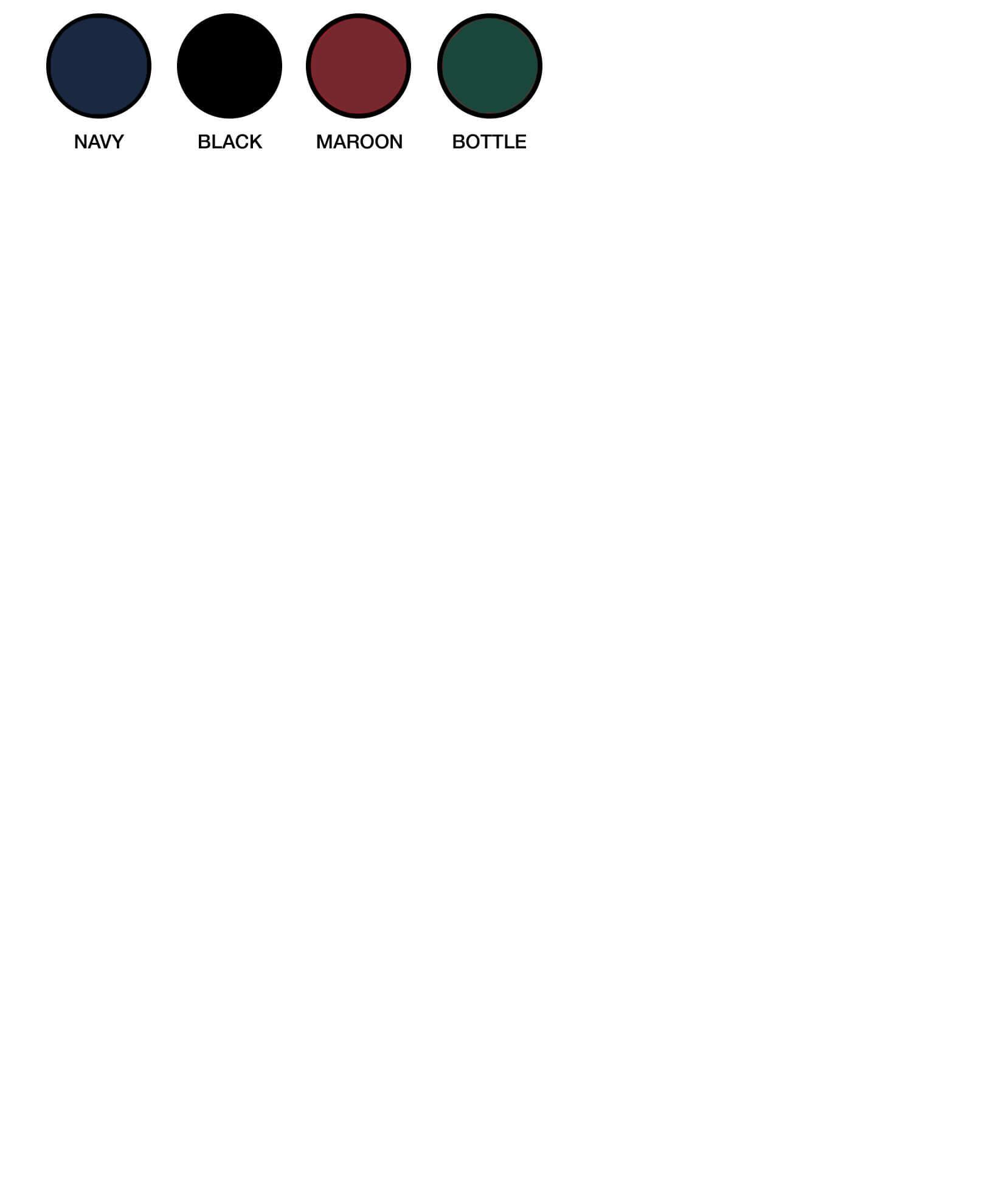AJM Colour Chart