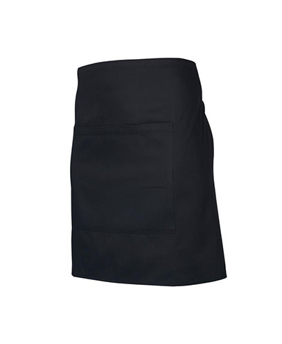 BA94 Short Waisted Apron - Black