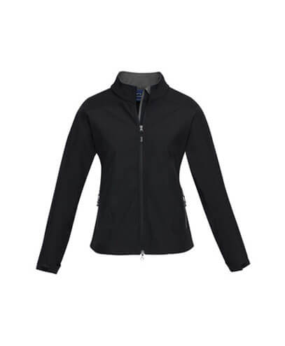 J307L Womens Geneva Jacket - Black/Graphite