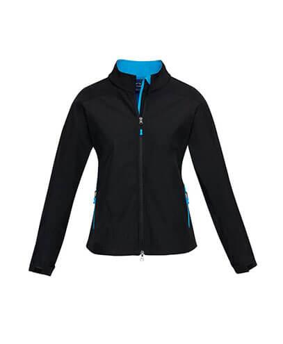J307L Womens Geneva Jacket - Cyan