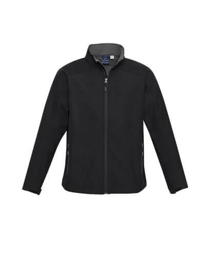 J307M Mens Geneva Jacket - Black/Graphite