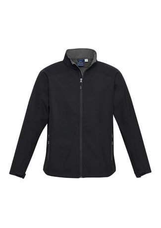 J307M Mens Geneva Jacket - Black/Graphite