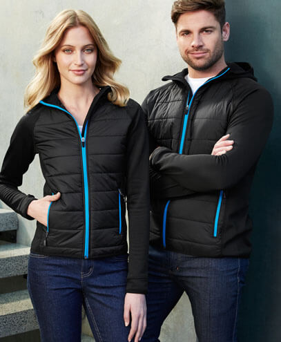 J515L Womens Stealth Tech Hoodie - Front