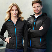 J515L Womens Stealth Tech Hoodie - Worn by Female and Male Models