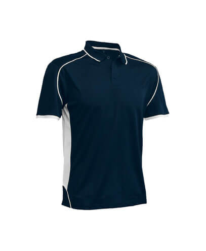 MPP Adults Matchpace Polo - Navy/White