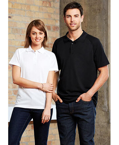 P300LS Womens Sprint Quick Dry Polo - Front