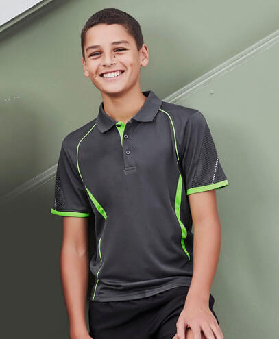 P405KS Kids Razor Polo - Worn by Boy Model