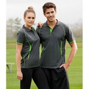 P405MS Mens Razor Quick Dry Polo - Front