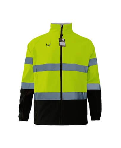 R450X Adults Hi Viz Softshell Jacket - Safety Yellow