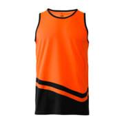 R465X Adults Peak Performance Singlet - Orange/Black