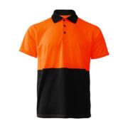 R466X Adults Workguard Basic Polo - Orange/Black