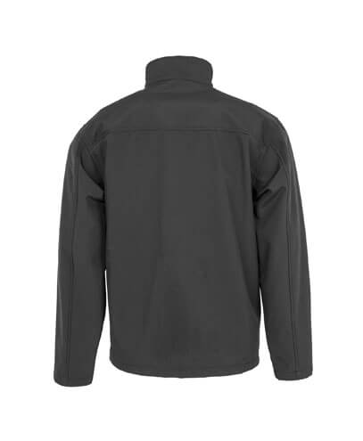 R900X Adults Recycled Softshell Jacket - Back