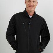 SJM Mens PRO2 Softshell Jacket - Worn on Male Model