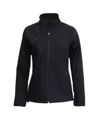 SJW Womens PRO2 Softshell Jacket - Black